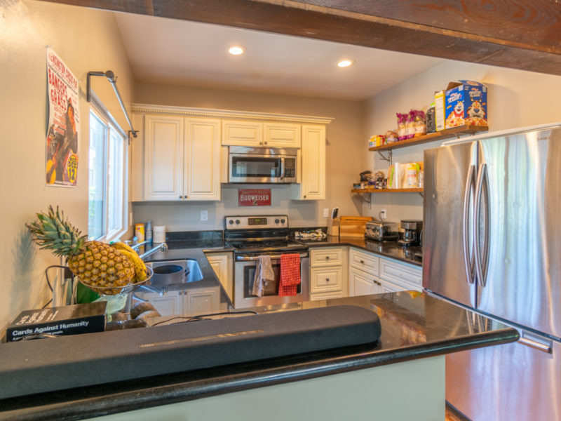 2618 College (Rear House) Kitchen 2 | Valiance Capital