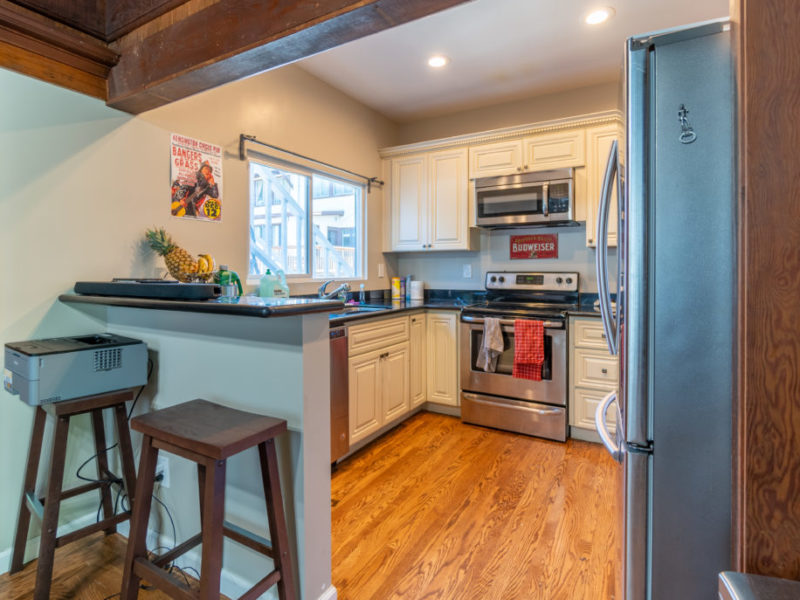 2618 College (Rear House) Kitchen | Valiance Capital