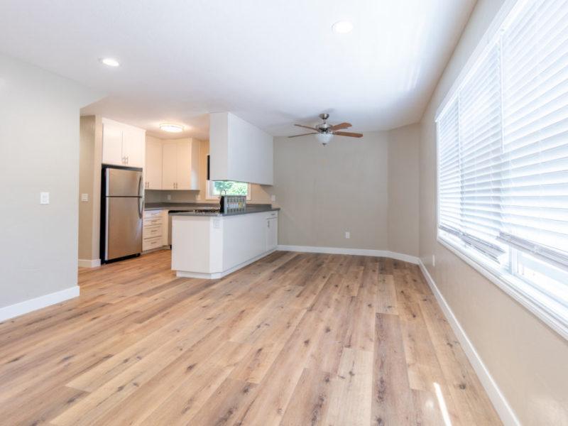 2620 Regent Kitchen and Living Area | Valiance Capital