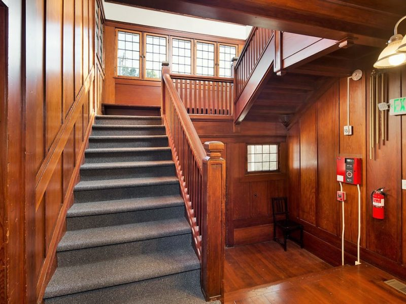 2901 Channing Entrance Stairwell | Valiance Capital