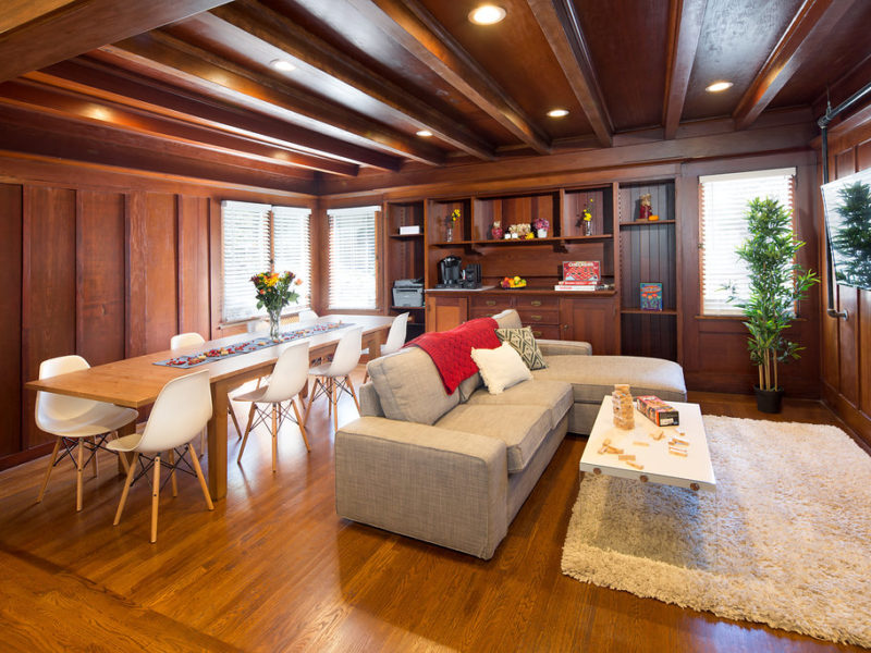 2901 Channing Living and Dining Area | Valiance Capital