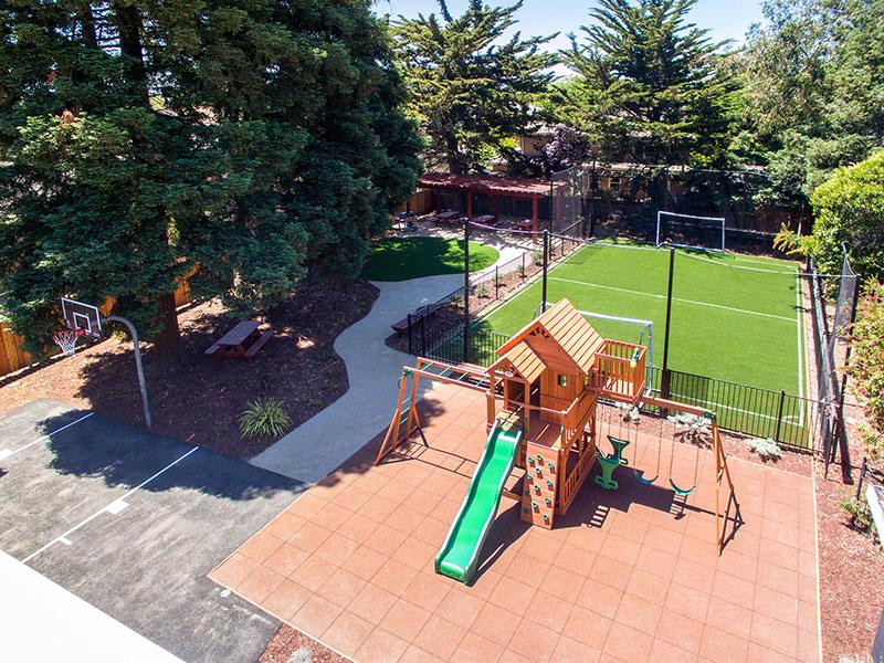 Greenleaf Apartments Outdoor Area | Valiance Capital