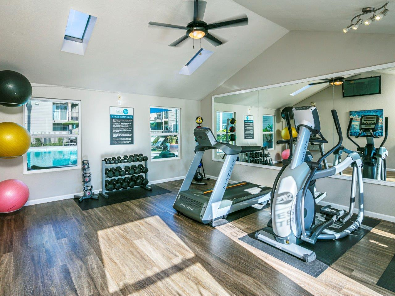 Trails at 2112 | Fitness Center {Pre-Renovation}