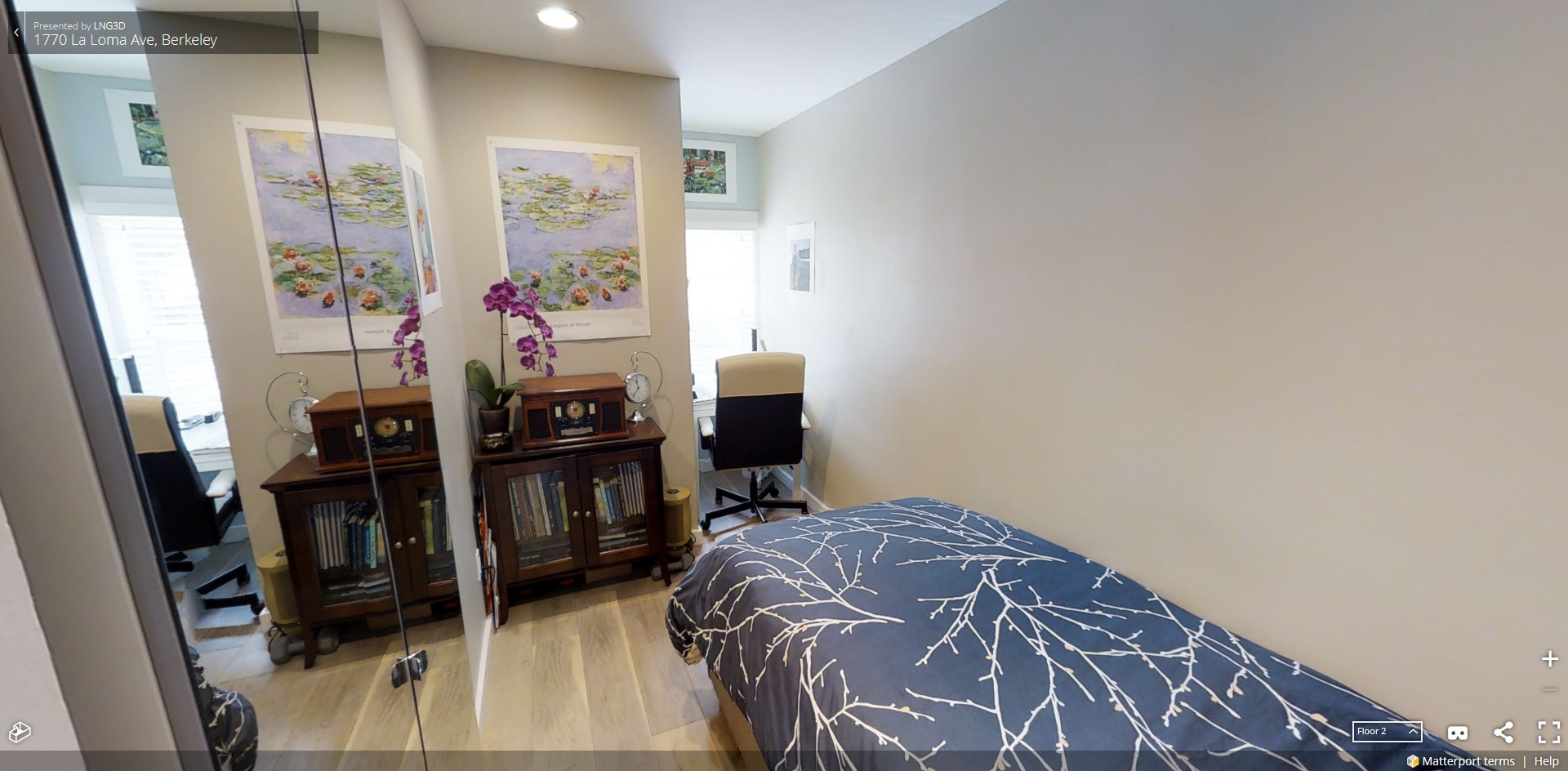 1770 La Loma | Bedroom | Valiance Capital